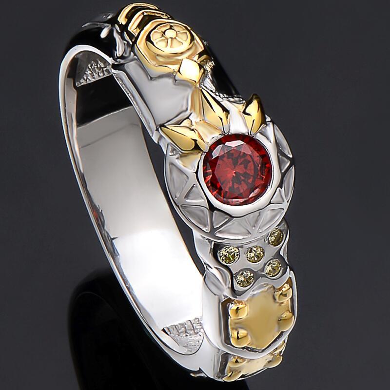 925 bijoux en argent Sterling bagues de fiançailles LoL héros maître Graves anneau jeu bijoux cadeau de noël anneau taille 11