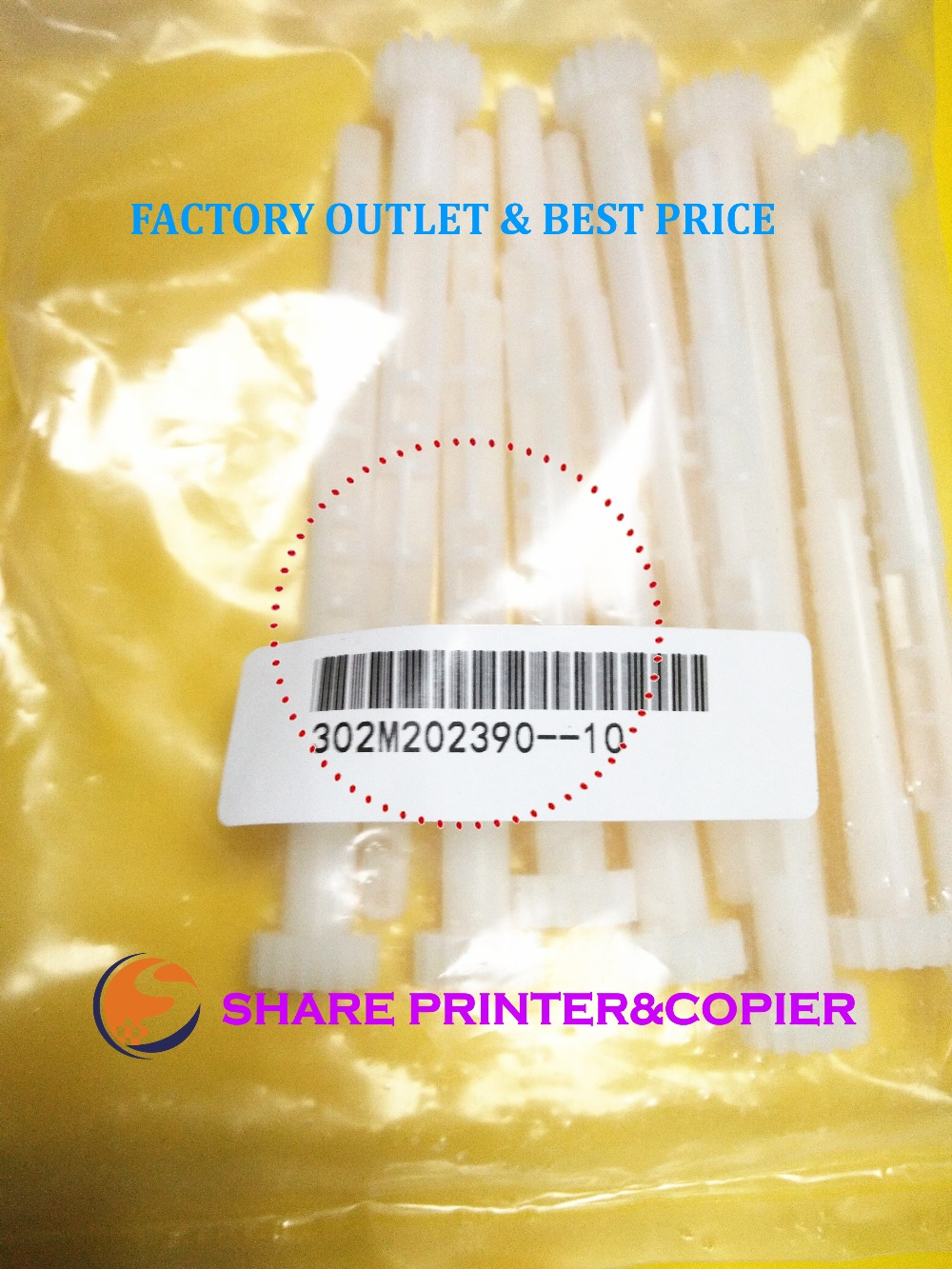 SHARE genuine drive gear waste Z16S 302M202390 2M202390 For kyocera FS-1040 1060 1020 1120 1025 1125 P1025 M1025 M1520 недорго, оригинальная цена