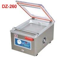 DZ 260 110 В/220 В пищевой вакуумный упаковщик, вакуумной упаковки вакуумной камере, алюминиевые мешки пищевой рис чай вакуум запайки