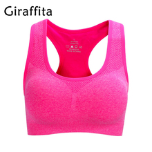 Professional Absorb Sweat Top Athletic Running Sports Bra Gym Fitness For Women