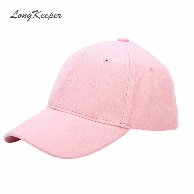 Fashion Ladies Suede Baseball Caps Women Snapback Caps Solid Autumn Winter Van Gorras Suede Hats Pink Gray Purple Blue Beige B80