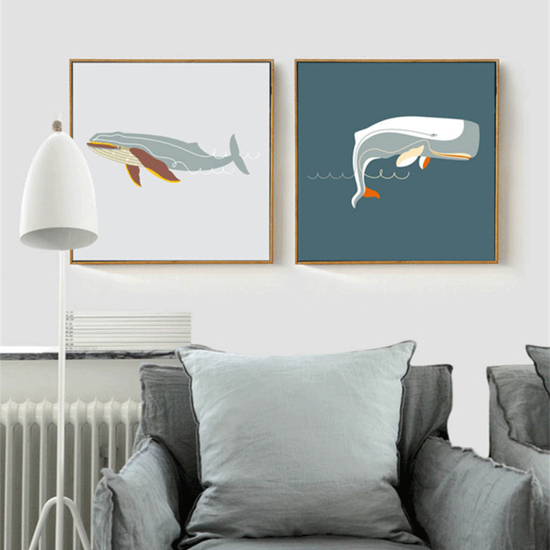 Whale Wall Art popular whale wall art-buy cheap whale wall art lots from china