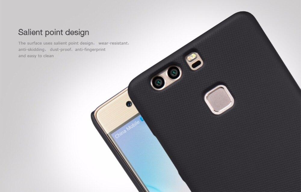 Huawei Ascend P9 Huawei P9 fodral skal NILLKIN Super Frosted Shield - Reservdelar och tillbehör för mobiltelefoner - Foto 3