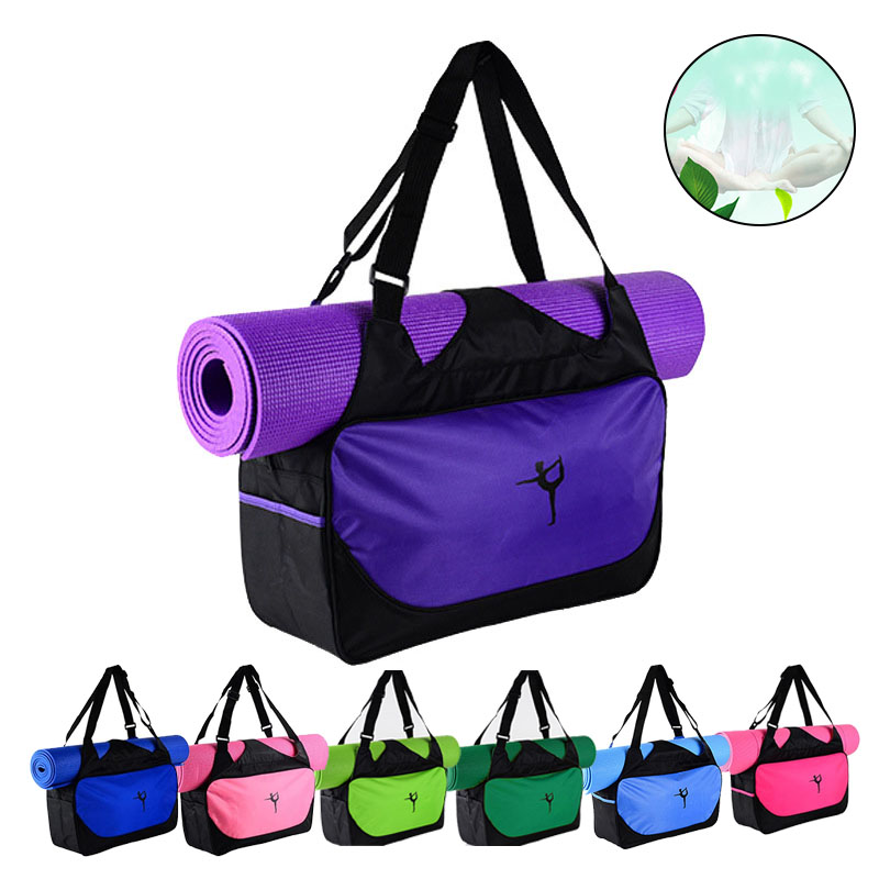 Multi-function Yoga Bags Gym Mat Bags Waterproof Yoga Pilate Mat Case Carriers ZJ55