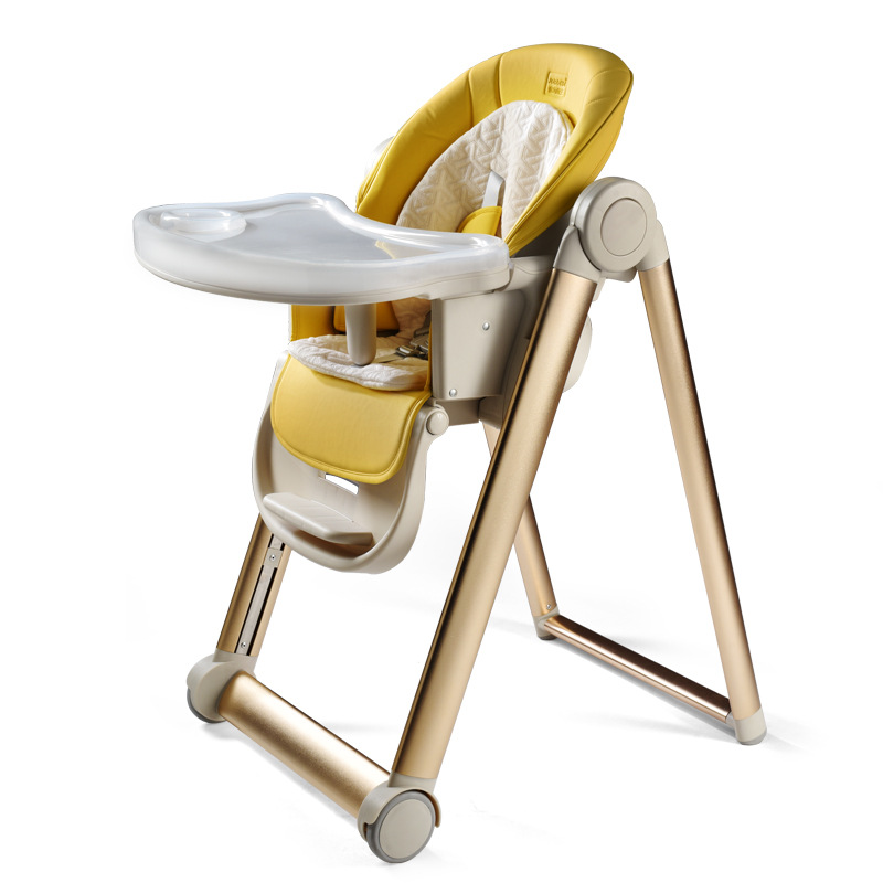 Multifunctional Baby Dining Chair Child Eating Seat Foldable Portable Baby Table Stool Learning Chair