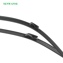 Senwanse Windshield Wiper blade for For BMW 7 Series E65 E66 E67 E68 F01 F02 F03 F04 2002-2015 car front window windscreen wiper