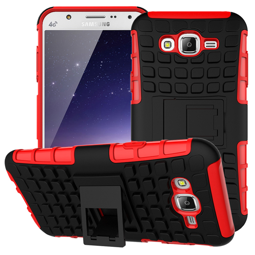 PC+TPU Cell <font><b>Phone</b></font> Case For <font><b>Samsung</b></font> Galaxy <font><b>J7</b></font> 2015 SM-J700F <font><b>J700</b></font> J7008 J700F J700H Shell Covers Armor Hybrid Tyre Cases Hood