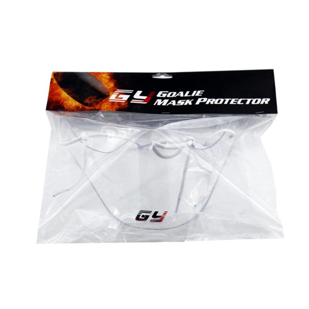 Envío gratis claro protector de cuello de policarbonato casco de - Ropa deportiva y accesorios