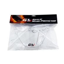 GY professional clear Polycarbonate Neck protector ice hockey goalkeeper helmet guard goalie throat guards for sale