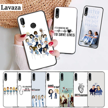 Lavaza Grey Anatomy Silicone Case for Huawei P8 Lite 2015 2017 P9 2016 Mimi P10 P20 Pro P Smart Z 2019 P30