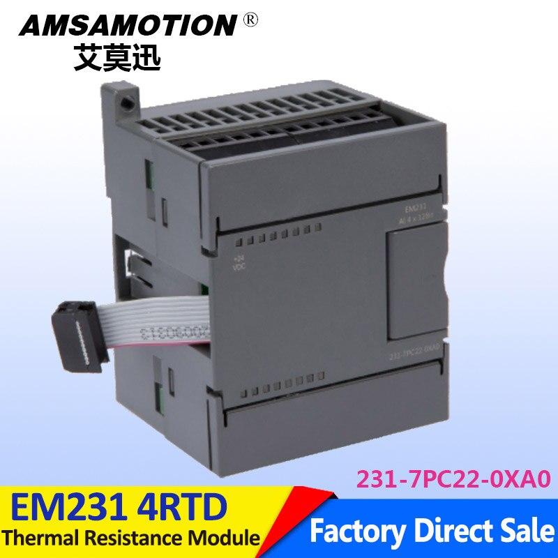 Compatible Siemens S7-200 4RTD EM231 4Input 6ES7 231-7PC22-0XA0 Thermal Resistance Module em231 tc4 compatible s7 200 6es7231 7pd22 0xa0 6es7 231 7pd22 0xa0 plc module 4 thermocouple input