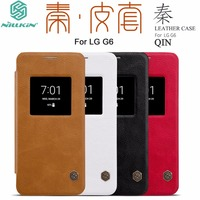 New Arrival Phone Accessories For LG G6 Case Original Nillkin Flip Luxury Classic PU Leather View