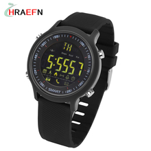 Hraefn EX18 Smart Watch 5ATM Waterproof swimming Resistant Bluetooth Call SMS Reminder Pedometer Sleep Monitor for Android iOS