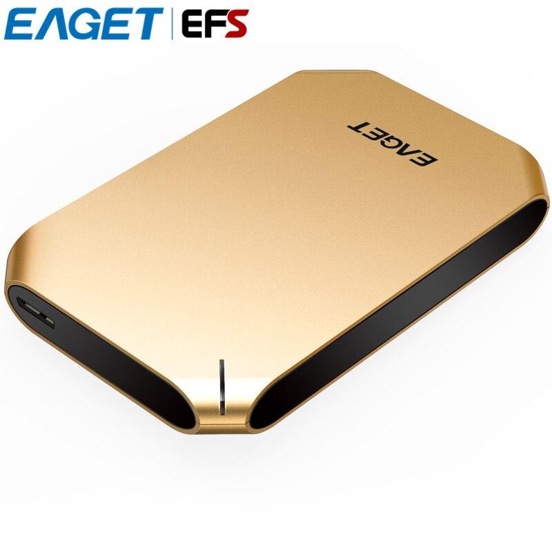 Оригинал Eaget g60 1 ТБ 500 ГБ HDD 2.5 USB 3.0 High-Скорость противоударный Внешние жёсткие диски полный Шифрование рабочего ноутбука жесткий диск