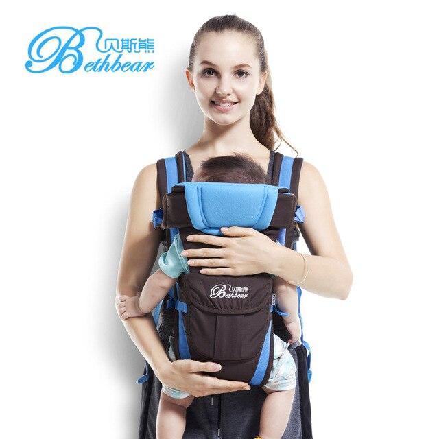 Beth Ours 1-30 mois multifonctionnel 4 couleurs enfant sling porte-bébé  kangourou pour c184b337d0c