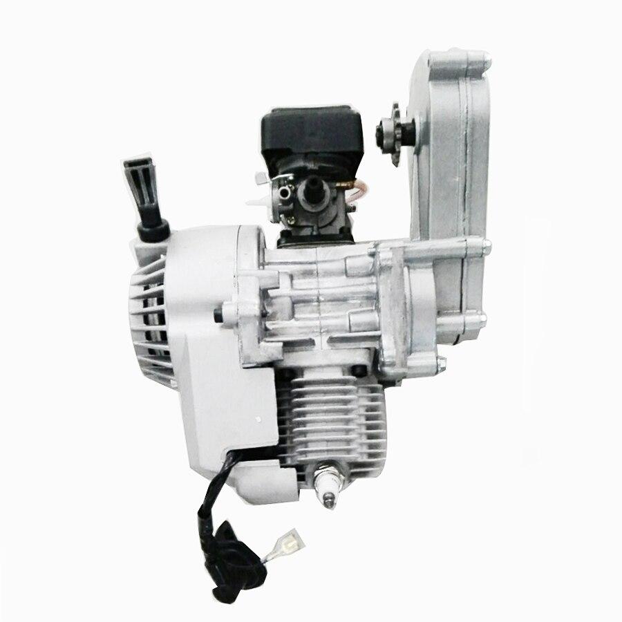 For Pocket Bike Mini ATV Scooter 47cc 49cc Engine 2-Stroke Motor With Transmission
