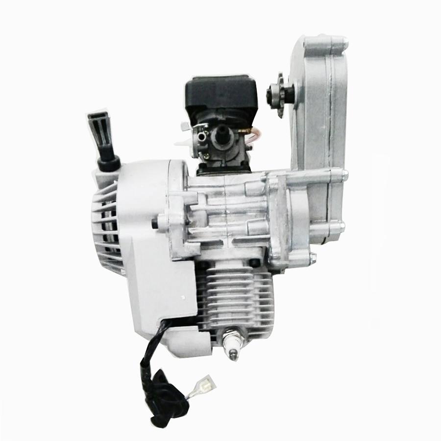 Pour vélo de poche Mini ATV Scooter 47cc 49cc moteur 2 temps moteur avec Transmission