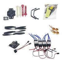 RC Drone Quadrocopter 4 axis Aircraft Kit F330 MultiCopter Frame KK XCOPTER Flight Control No Transmitter No Battery F02471 K