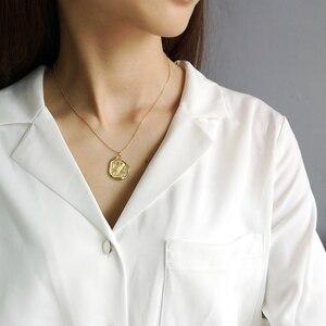 Image 5 - 925 sterling silber kostenloser eule gold halskette einfache mode design persönlichkeit eule anhänger halskette für frauen 2018 edlen schmuck