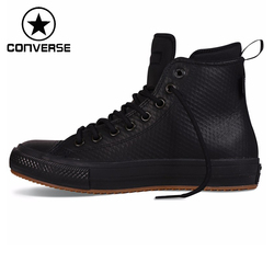 Original Converse chuck II boots Unisex Skateboarding Shoes leather Sneakers