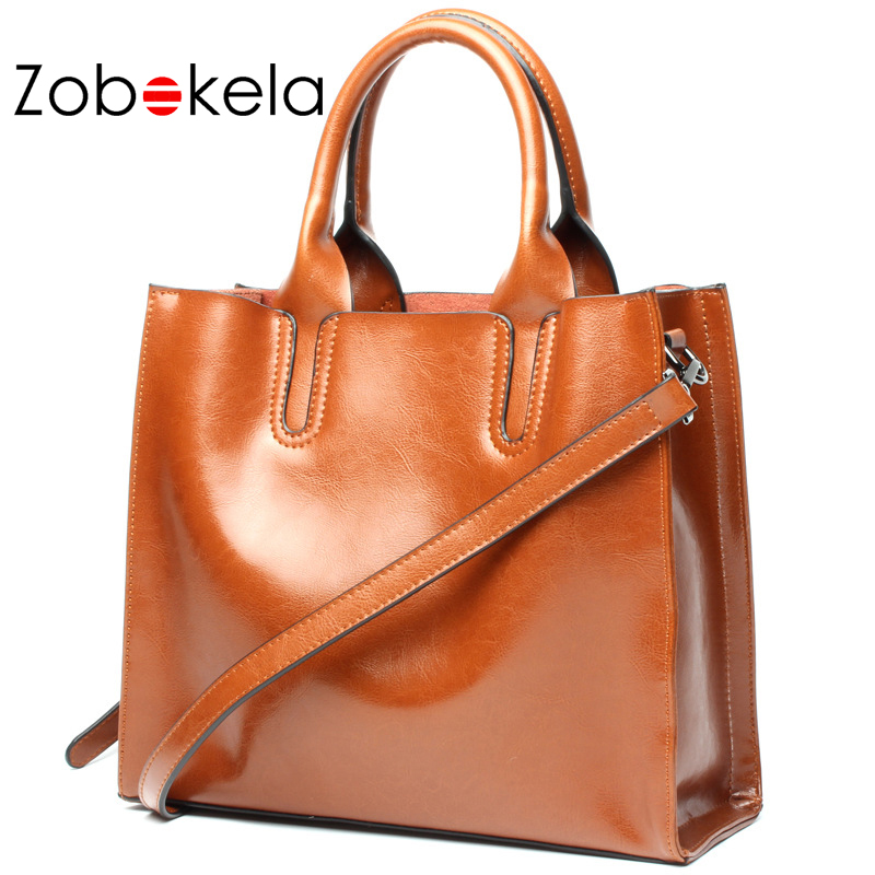 ZOBOKELA Female bag luxury handbags women bags designer women genuine leather handbags Women shoulder messenger bags travel bag zobokela genuine leather women bag handbags designer women messenger bags leather shoulder bag handbag ladies bag women
