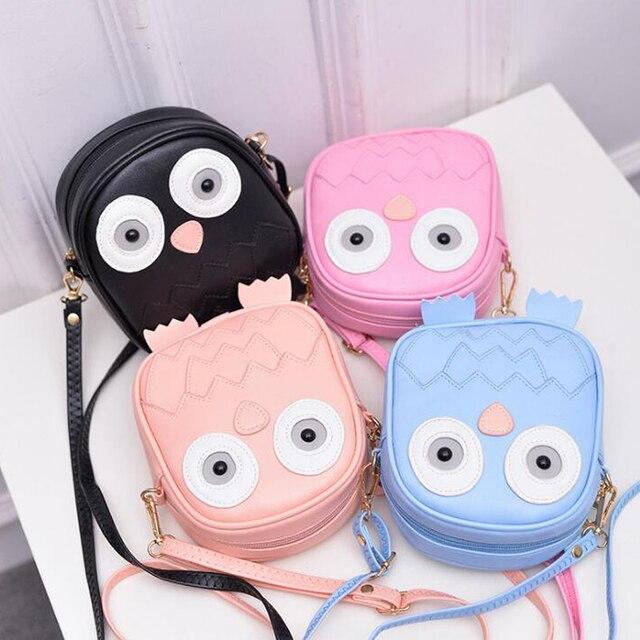 QZH 2017 Summer Kids Girls Messenger Bags Cartoon Mini Cute School Bag  Children Handbag Girl Shoulder Bag Women Crossbody Bags 4056b32f42168