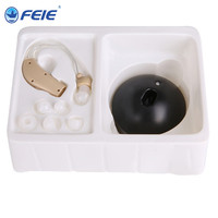 Rechargeable Mini Bte Analog Hearing Aid S 108 For Elderly Hearing Loss Sound Amplifier