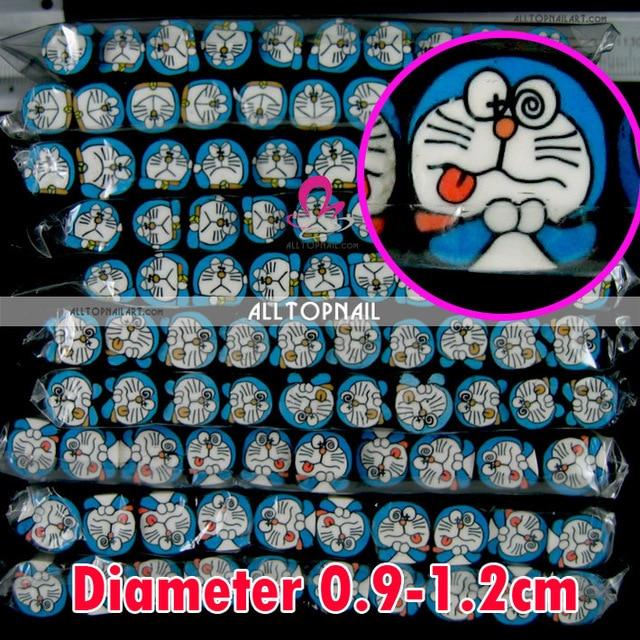 Aliexpress Buy Doraemon 50pcslot Big Size Nail Art Fimo Canes
