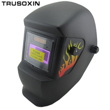 NEW AAA battery+solar automatic darkening power control welding mask/helmets face mask weld goggles/eye protection mask