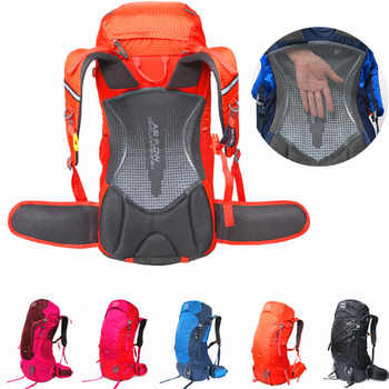 50L Waterproof Climbing Hiking Backpack Rain Cover Bag Camping Mountaineering Backpack Sport Outdoor Bike Bag Travel Sport Equip