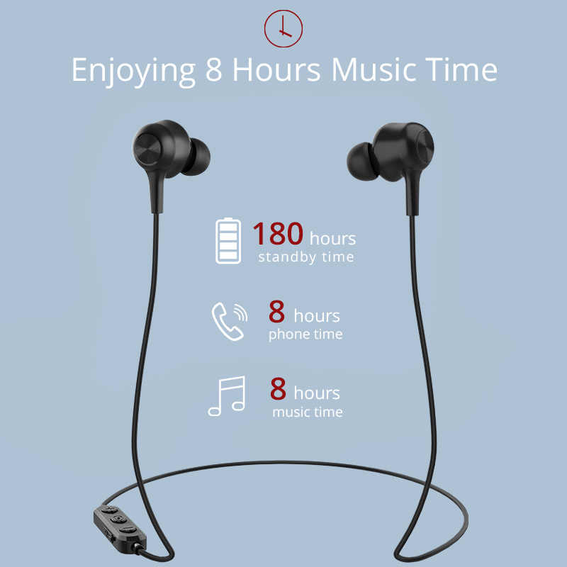 Langsdom L17 беспроводные наушники Bluetooth 5,0 наушники для телефона iPhone гарнитура с магнитами вкладыши с микрофоном стерео Bluetooth наушники