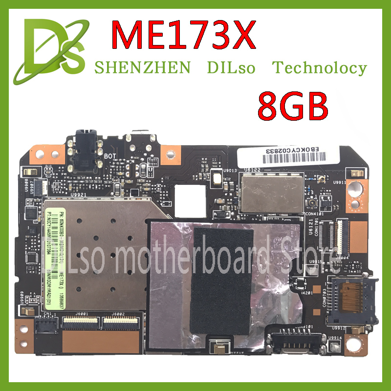 KEFU ME173X for ASUS ME173X ME17 8GB Tablet PC motherboard work 100% well motherboard Test board for asustransformer pad tf300tg 32gb tablet pc motherboards work well nice mainboard motherboard 100% test