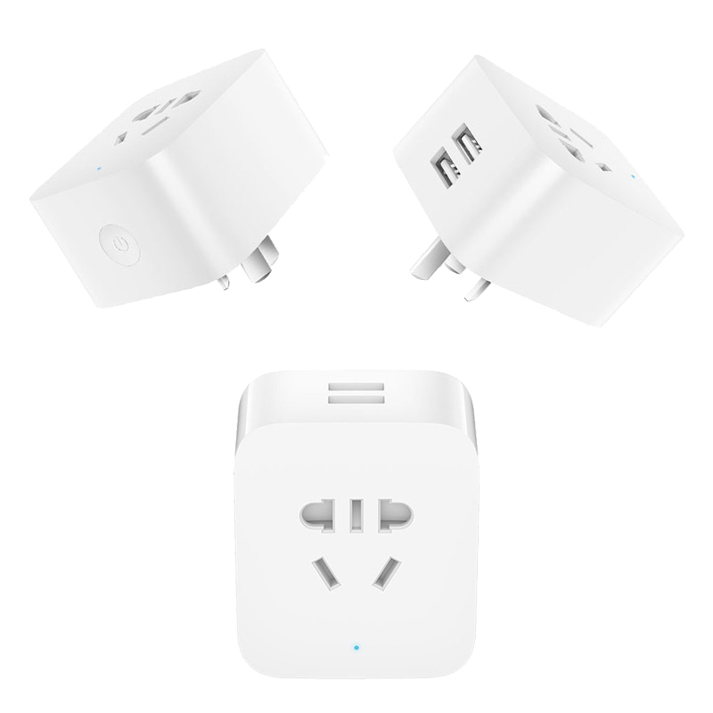 xiaomi mijia smart plug socket enhanced dual usb fast charger zigbee 115 Volt Plug xiaomi mijia smart plug socket enhanced dual usb fast charger zigbee basic socket no usb wireless wifi mi home app control in smart power socket plug from