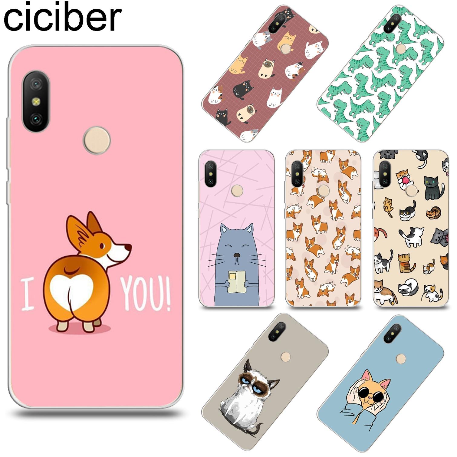 Ciciber Kitten-Cover Phone-Case Corgi Xiaomi Redmi Note-7 Plus For Note-7/5-6-4/3-pro-x-a/..