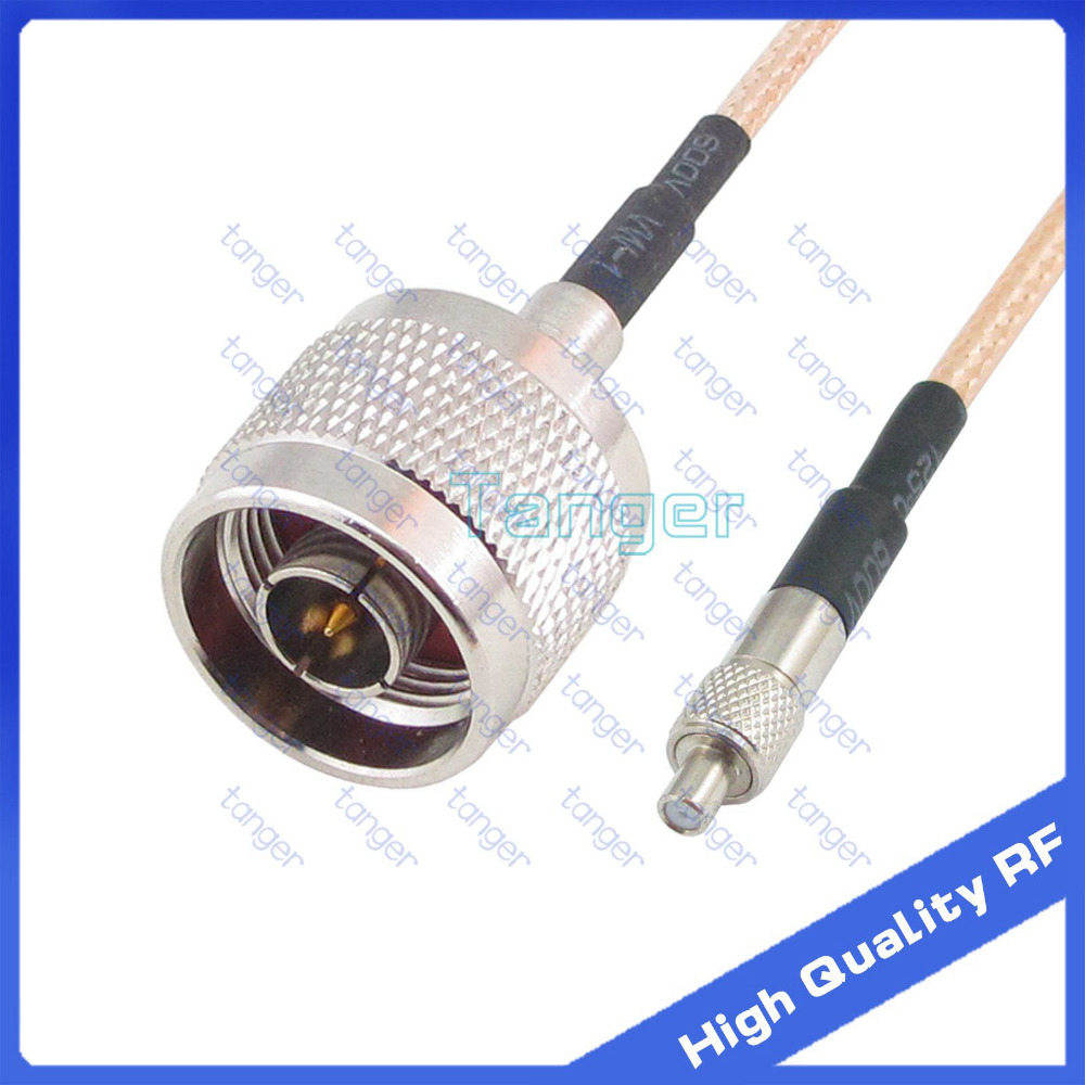 TS9 female Jack to N male plug straight connector with 20cm 8inch RF RG316 RG-316 RF Coaxial Pigtail High Quality Low Loss cable sma female to y type 2 x ts9 male crc9 male connector splitter combiner pigtail cable rg 316 30cm gold
