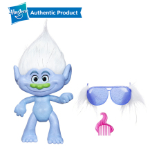 Hasbro DreamWorks Trolls Glitterific Guy Diamond Anime Movie Action Figure Anime Mini Collection Figurine Toy Model Gift