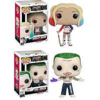 Funko POP Suicide Squad Joker Harley Quinn Deadshot figura modelo colección modelo de juguetes regalos para niños