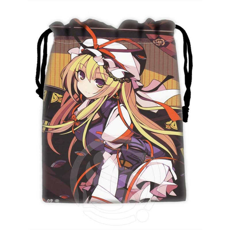 H-P784 Custom Sexy Anime Girl#9 Drawstring Bags For Mobile Phone Tablet PC Packaging Gift Bags18X22cm SQ00806#H0784
