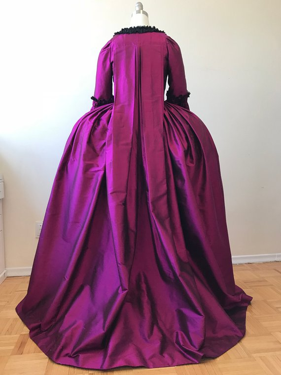 Home Cosplaydiy Custo Made Royal 18th Century French Duchess Reenactment Gown Marie Antoinette Day Ball Gown Dress L320