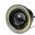 2 unids Impermeable Proyector LED Luz de Niebla Con Lente Angel Eyes de Halo Anillos COB 30 W Blanco Del Xenón 12 V SUV ATV Off Road luz Antiniebla DRL