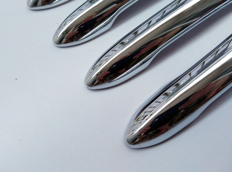 Free shipping For Renault Samsung QM3  Captur  2014 2015 door handle cover ABS Chrome 8pcs car accessories (7)
