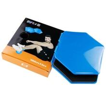 2pcs Hexagon Gliding Discs Exercise Sliding Plates Yoga Abdominal Core Training Slider Gym Fitness E