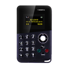 2017 Новое Прибытие Мини-Карты Телефон M8 Цветной Экран Карты Телефон Quad Band Low Radiation AEKU Дети Карман для Мобильного Телефона
