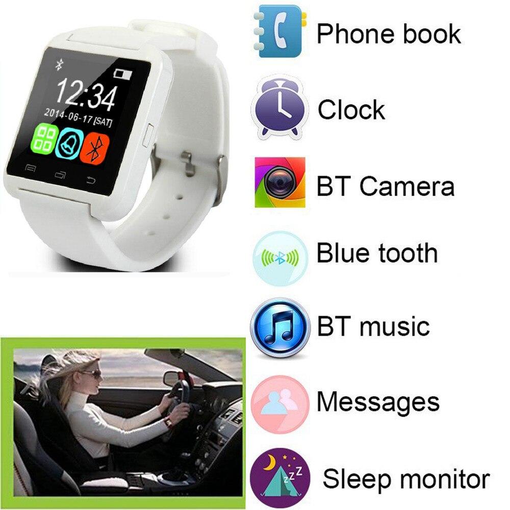 Αθλητισμός Bluetooth Smart καρπό ρολόι τηλέφωνο Mate για άνδρες γυναίκες Boys κορίτσια για το Android Samsung Motorola LG Huawei HTC IOS iPhone