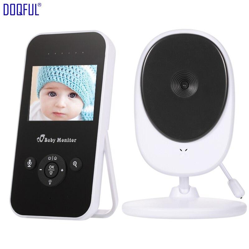 "New 2.4"" Portable Wireless Baby Monitor Digital Baba Electronics Com Nanny Camera Intercom Temperature Monitoring Lullabies DIY"