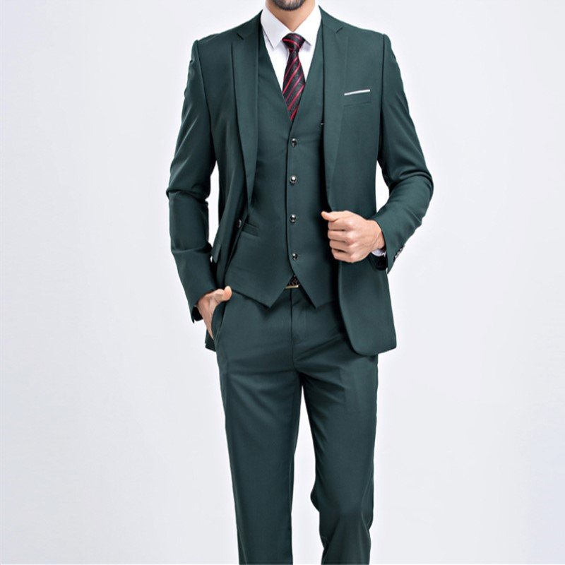 Costume Hommes veste Coréenne Groomsman As Mariage Fit Gilet custom The Image Slim Blazer Bouton De 296 Un Pantalon Made Vêtements marié Ensemble Casual Solide 4IrqIX
