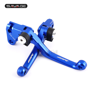 Image 4 - Pivot Brake Clutch Lever For YAMAHA WR450F 01 11/ WR250F 2001 2016 CNC Motorcycle Accessories Dirt Bike Off Road WR 250F 450F