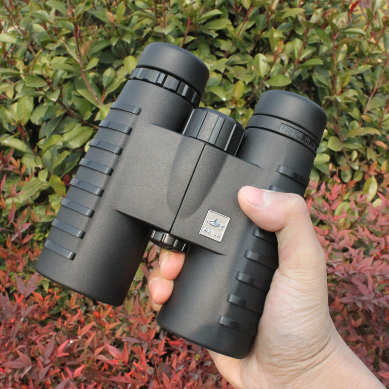 Asika 10X42 HD Binoculars Wide Vision Center Focus Optical Len Outdoor Camping Bird watching Hunting Telescope Waterproof 2017 new arrival all optical hd waterproof fmc film monocular telescope 10x42 binoculars for outdoor travel hunting