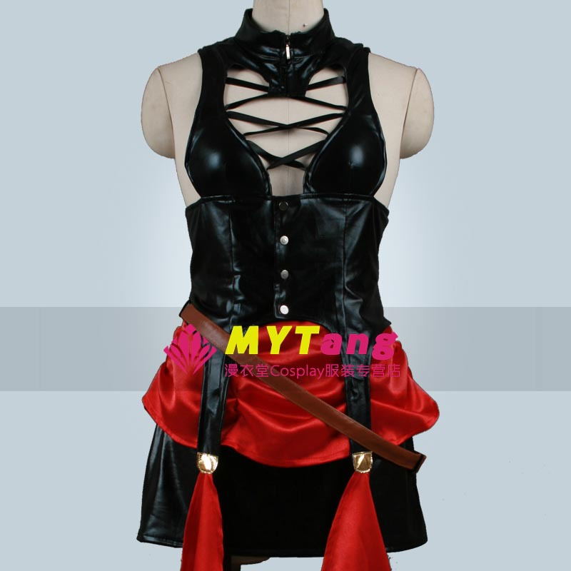 Kuroshitsuji Black Butler Circus Troup Sexy Beast Cosplay Costume Free Shipping