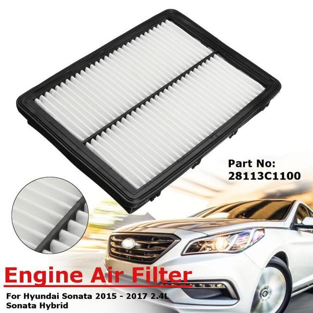 Engine Air Filter 28113c1100 For Hyundai Sonata 2 4l 2017 2016 Hybrid